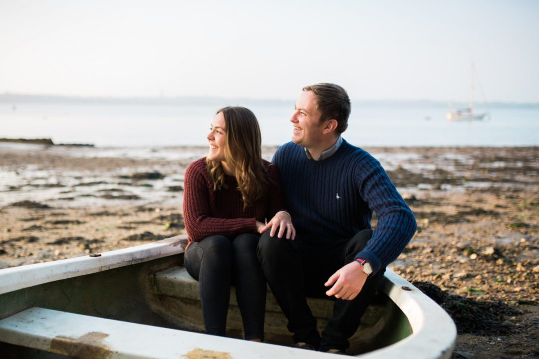 Manningtree engagement shoot at sunset