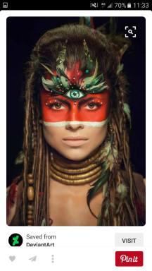 Make-up and Hair Inspiration Bohemian