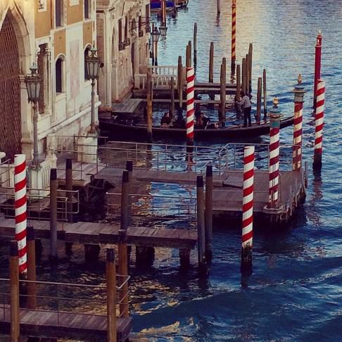A typically Venetian scene