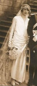 Image: Princess Mafalda of Savoy on her wedding day - forum.alexanderpalace.org