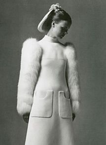 Image: Pierre Cardin in Vintage Weddings by Marnie Fogg