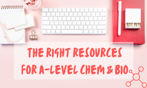 resources for a level chemistry and biology