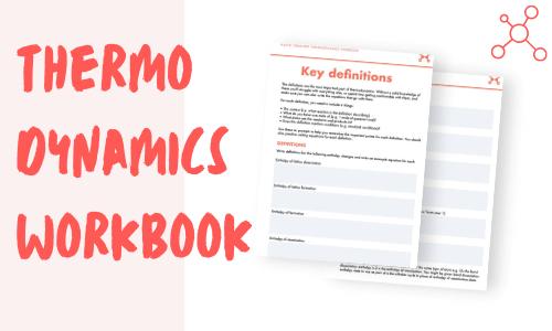 A-level Chemistry thermodynamics workbook