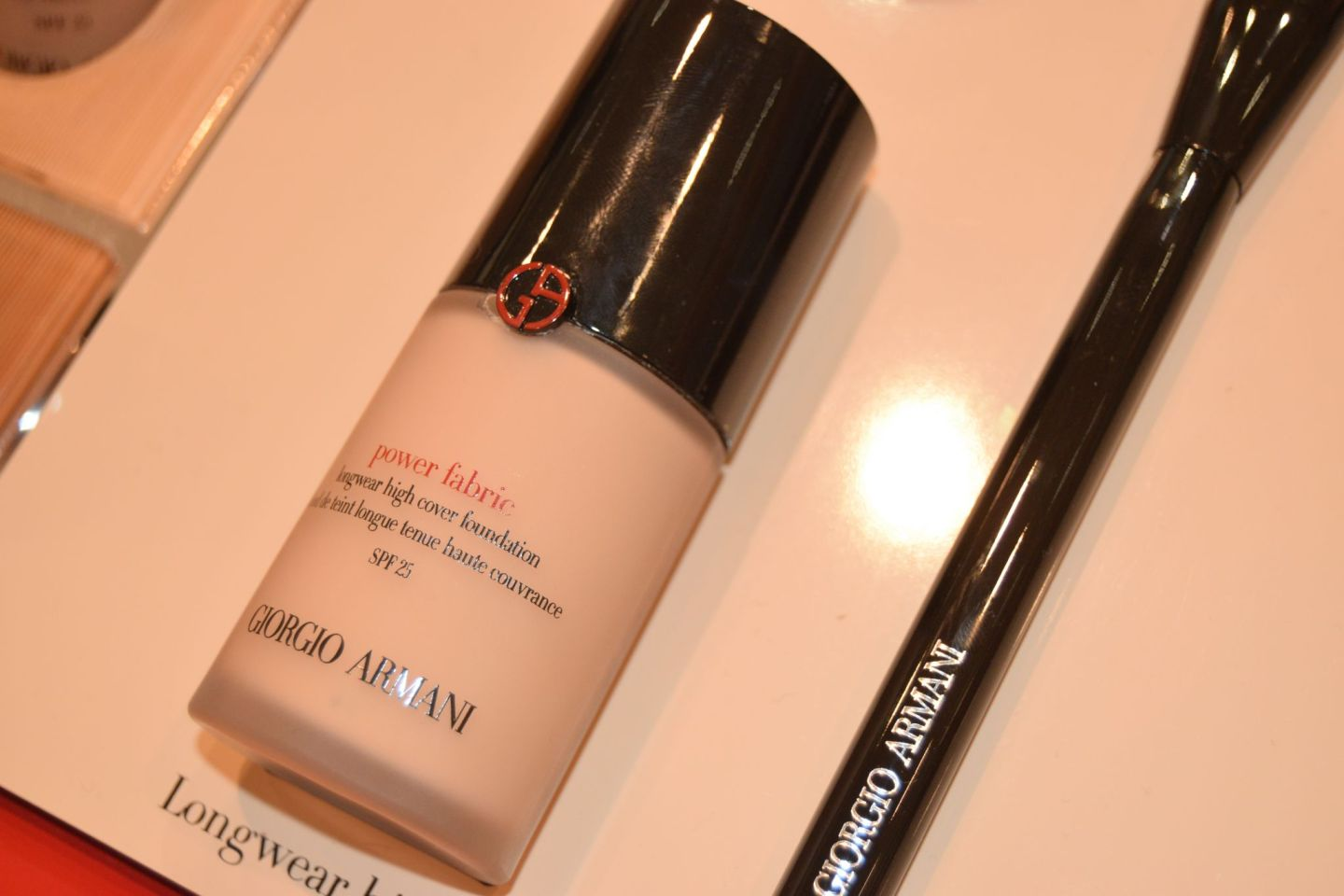 GIORGIO ARMANI: Powder Fabric Foundation Review