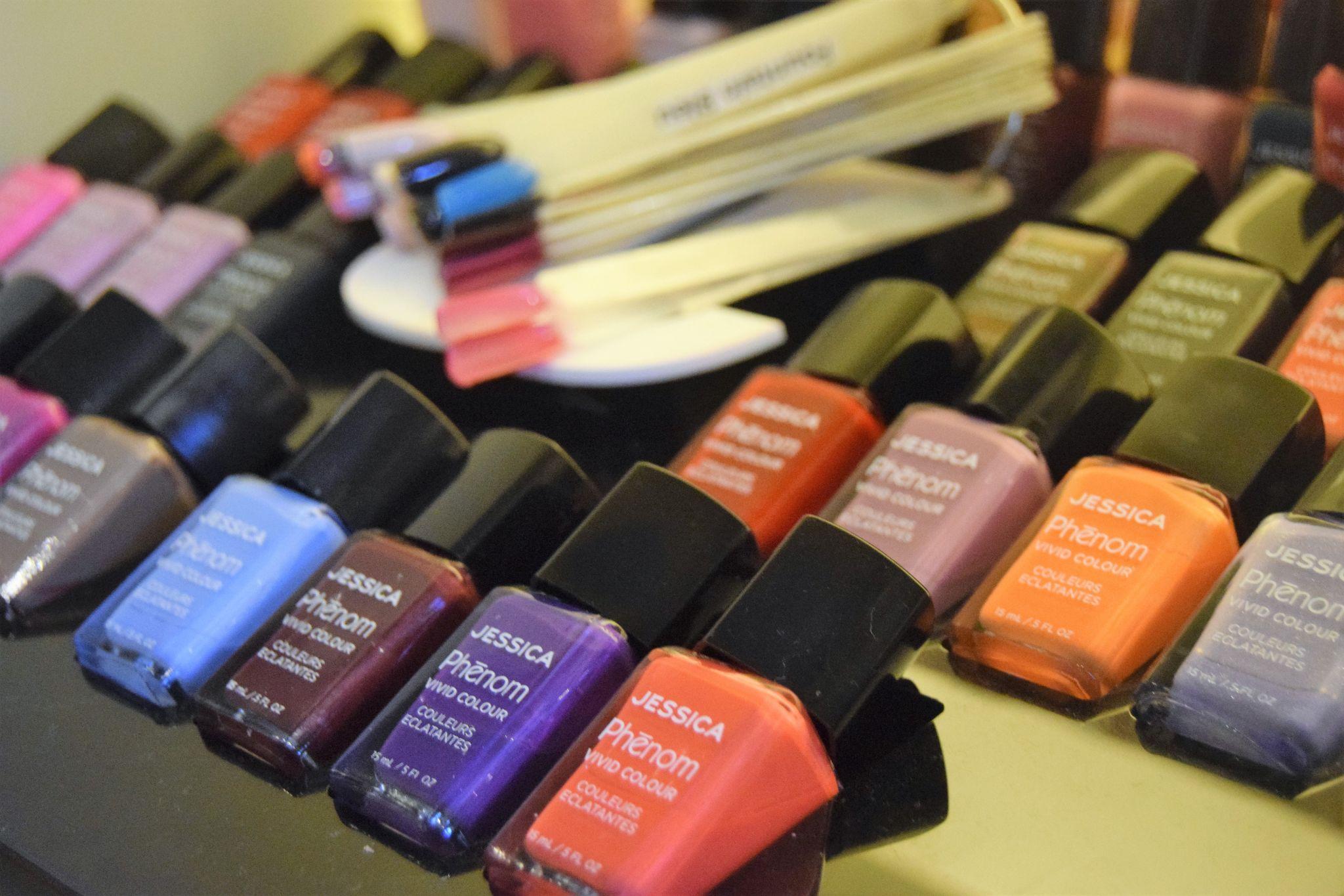 Nail salon at the spa