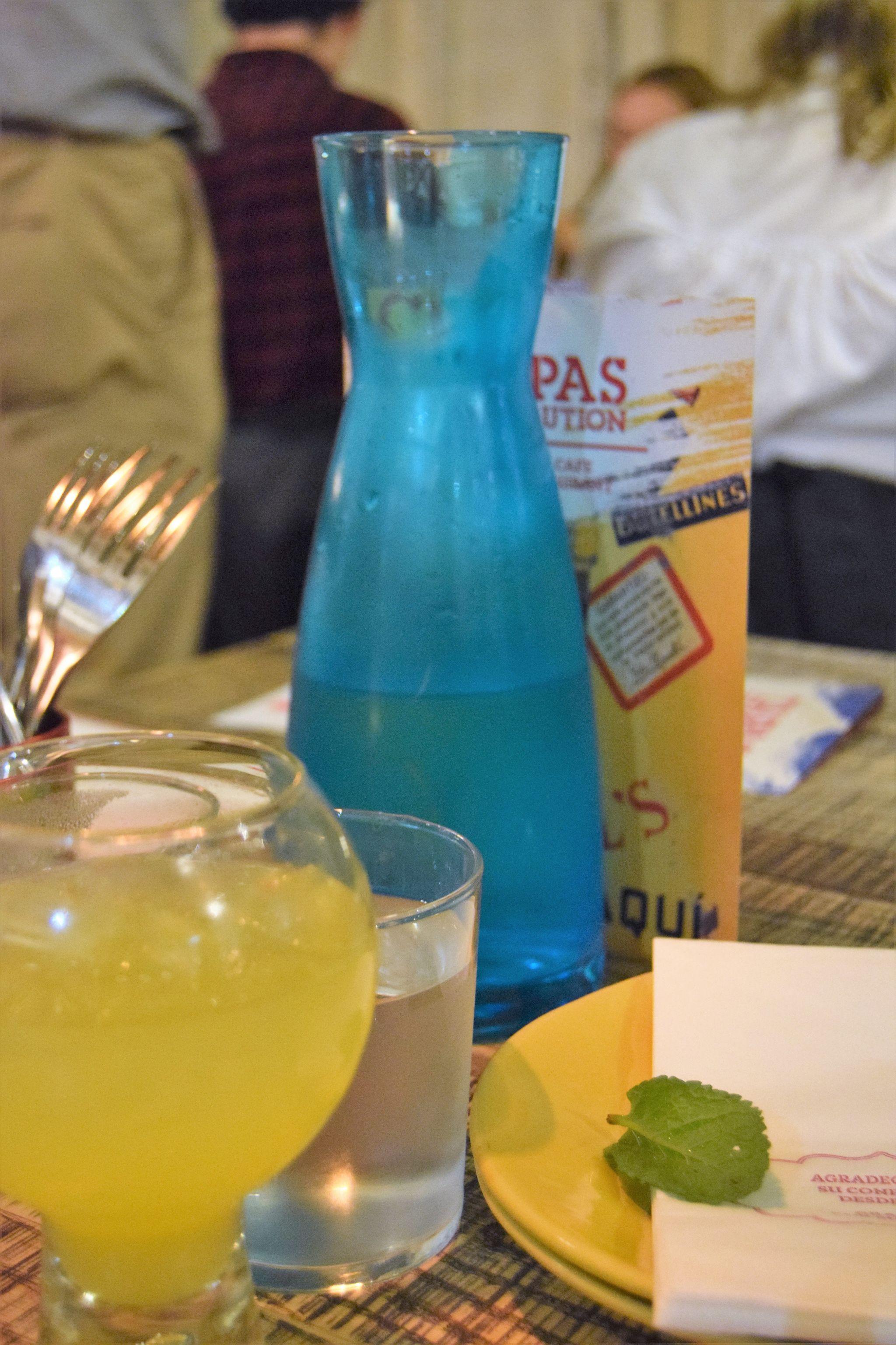 drinks at tapas revolution