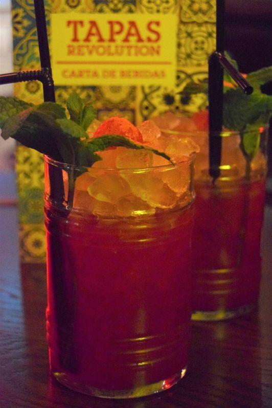 sangria bar and drinks
