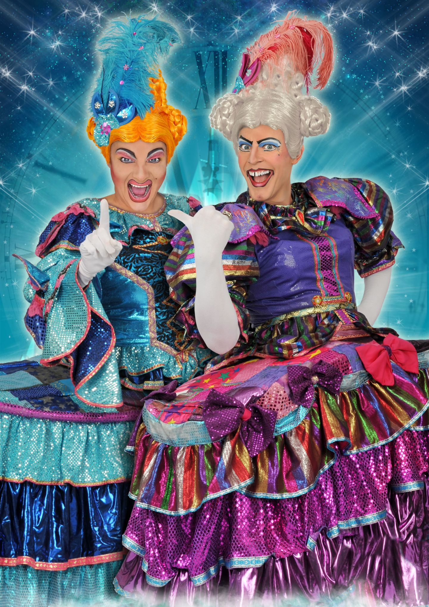 UglySisters Cinderella Newcastle 1 - Tyne Theatre:...Are you going to the Ball?