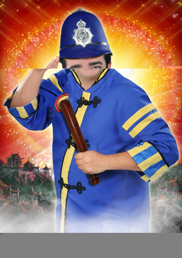 LewisDenny PCPong Aladdin Newcastle@72dpi - 3 Wishes with Aladdin at Tyne Theatre 2019