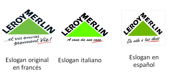 eslogan leroy merlin transcreación