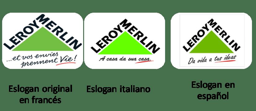 eslogan leroy merlin transcreación