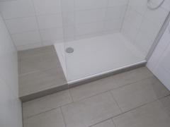 neues Badezimmer Dusche