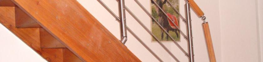 Montage Treppengeländer System