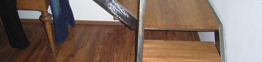 Treppenstufen Montage
