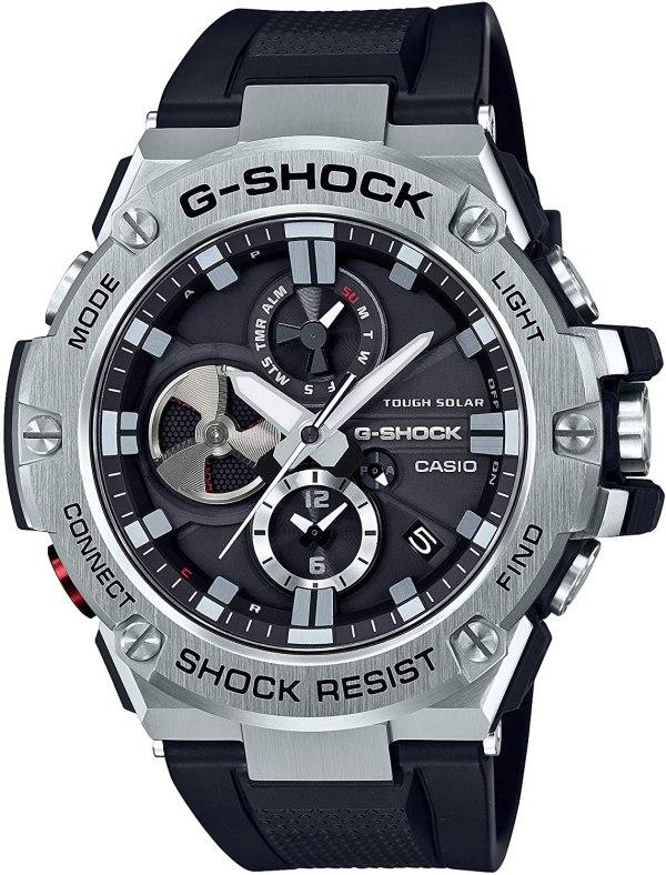 G-SHOCK GST-B100-1A Casio- BLACK AND SILVER - Gemorie