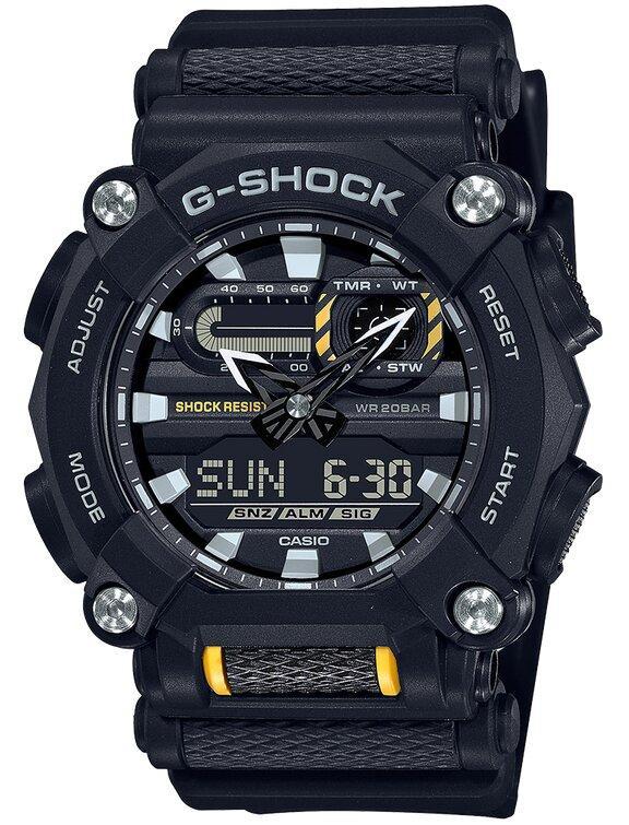 G-SHOCK G-SHOCK 10 Sided Nut Bezel Men's Watch - Black - Gemorie