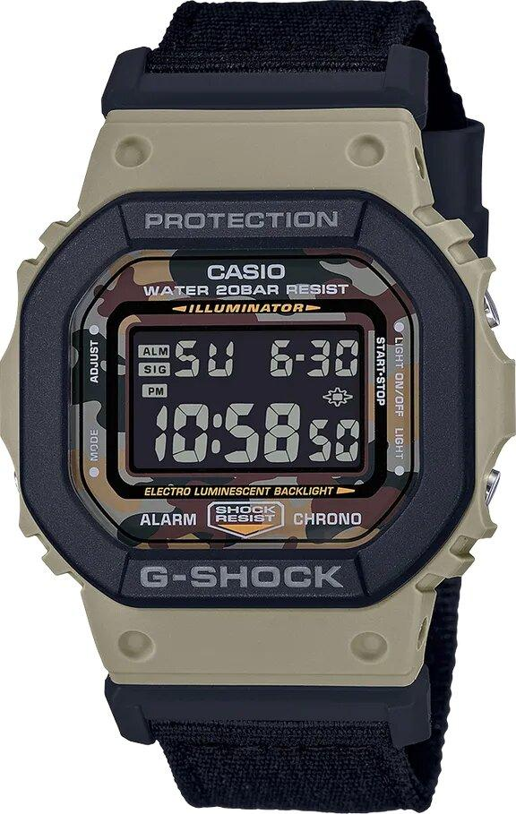 G-SHOCK G-SHOCK Bezel Molded Men's Analog Digital Watch - Black and Grey - Gemorie