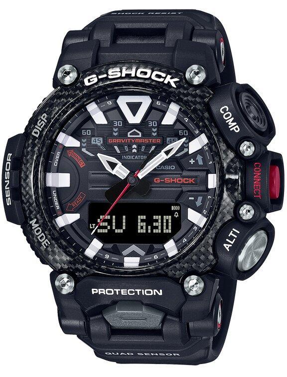 G-SHOCK G-SHOCK Carbon Core Structure Bluetooth Smartphone Quad Sensor Men's Watch - Black - Gemorie