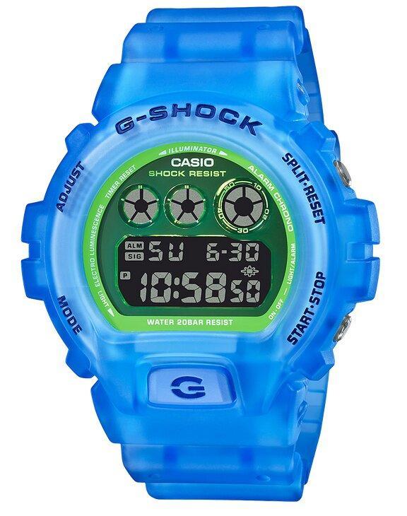 G-SHOCK G-SHOCK Flash Alert and Stopwatch Men's Digital Watch - Blue - Gemorie