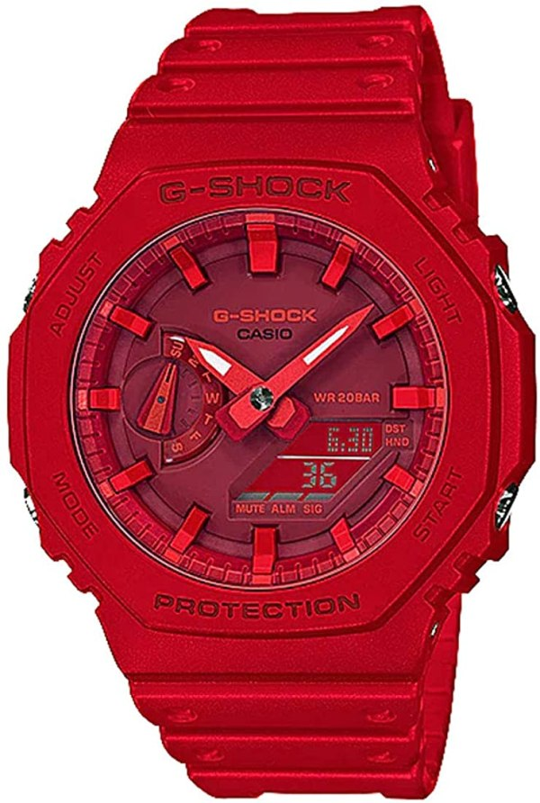 G-SHOCK G-SHOCK GA-2100-4A Casio- RED - Gemorie