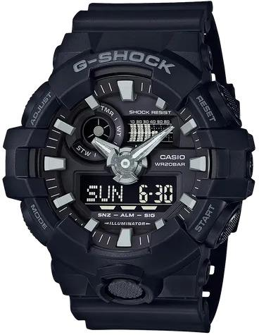 G-SHOCK G-SHOCK GA-700-1B Casio- BLACK - Gemorie
