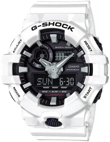 G-SHOCK G-SHOCK GA-700-7A Casio- WHITE - Gemorie