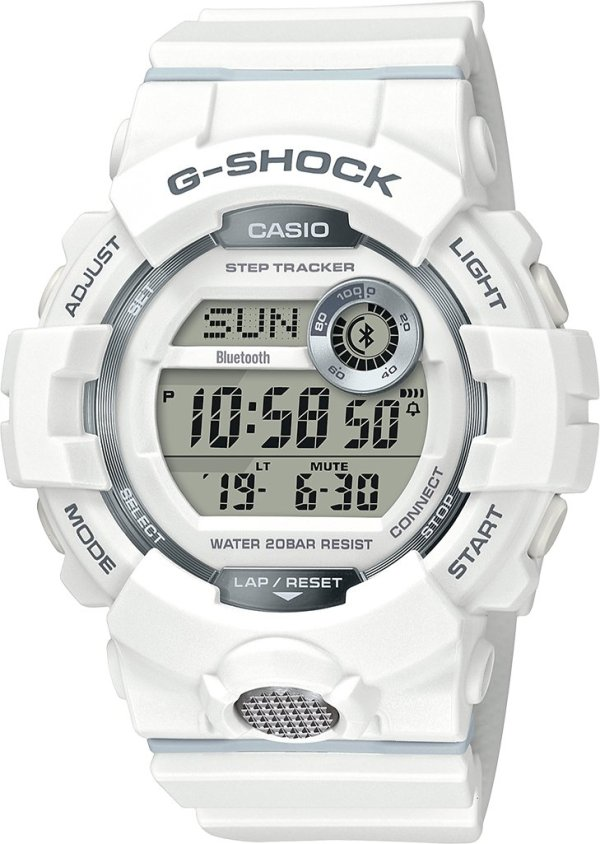 G-SHOCK G-SHOCK GBD800-7 GS D RESIN BT WHT - Gemorie