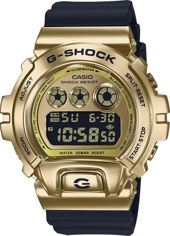 G-SHOCK G-SHOCK GM5600 Series Stainless Steel Metal Bezel Watch - Multicolor - Gemorie
