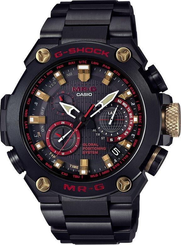 G-SHOCK G-SHOCK GPS Hybrid Wave Ceptor Titanium Band Men's Watch - Multicolor - Gemorie