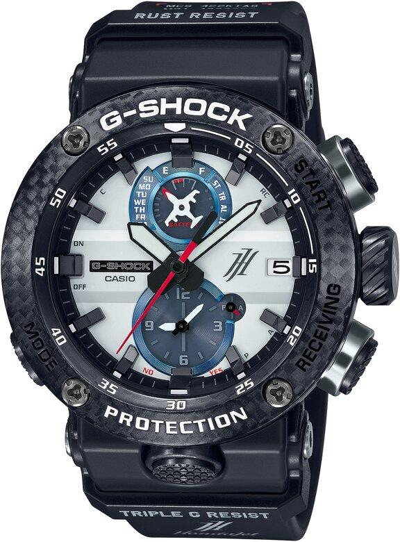 G-SHOCK G-SHOCK HondaJet Collaboration Tripe G Resist Men's Watch - Multicolor - Gemorie