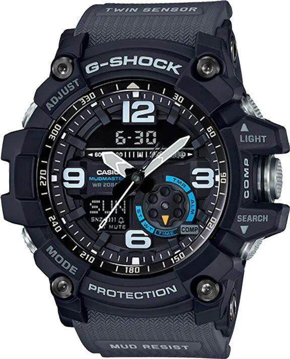 G-SHOCK G-SHOCK Master of G MudMaster Men's Watch - Black - Gemorie