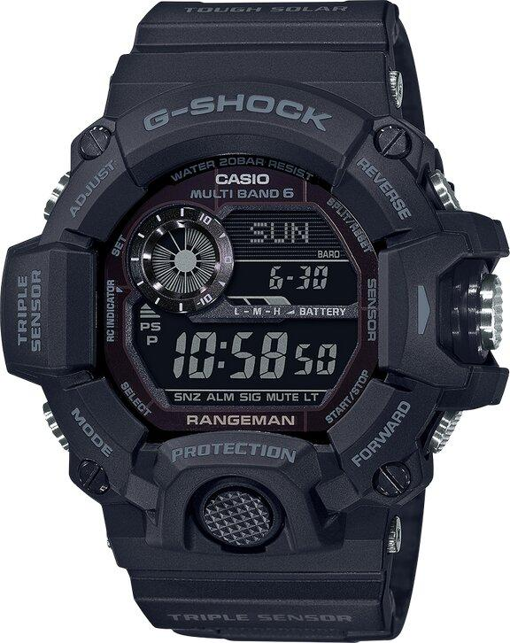 G-SHOCK G-SHOCK Preprogrammed Auto Calendar Men's Watch - Black - Gemorie