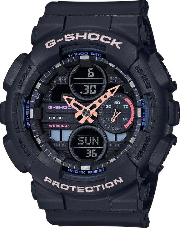 G-SHOCK G-SHOCK S-Series GMAS140-1A Women's Watch - Black - Gemorie