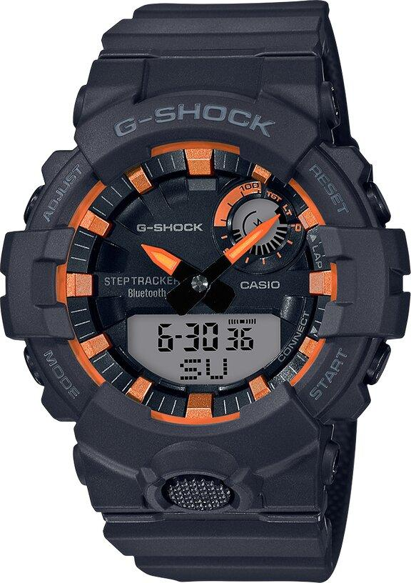 G-SHOCK G-SHOCK Step Tracker Men's Analog Digital Watch - Black - Gemorie
