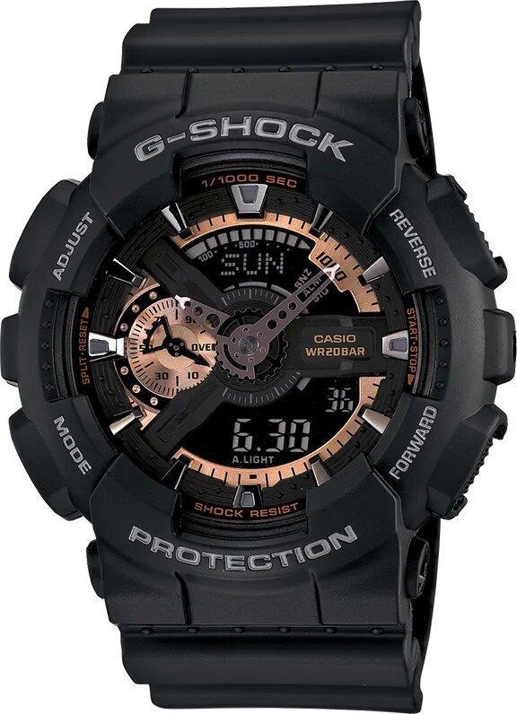 G-SHOCK G-SHOCK Timeless Men's Analog Digital Watch - Black - Gemorie