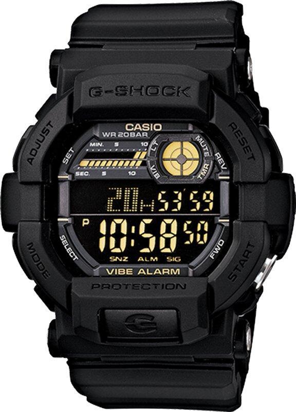 G-SHOCK G-SHOCK Vibration Alarm Flash Alert Men's Digital Watch - Black - Gemorie