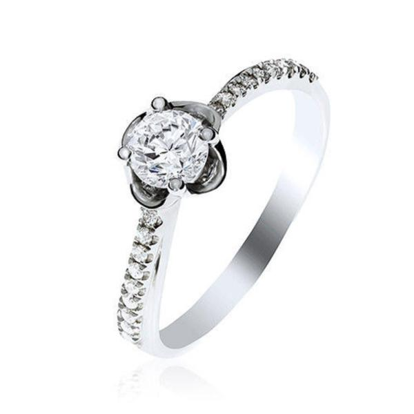 "Gemorie Gemorie ""Sweet Rose"" 0.30 Carat Diamond Ring with GIA Certificate - Gemorie"