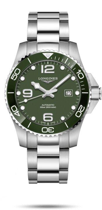 LONGINES LONGINES HydroConquest Men's Self-Winding Watch - Stainless Steel - Gemorie