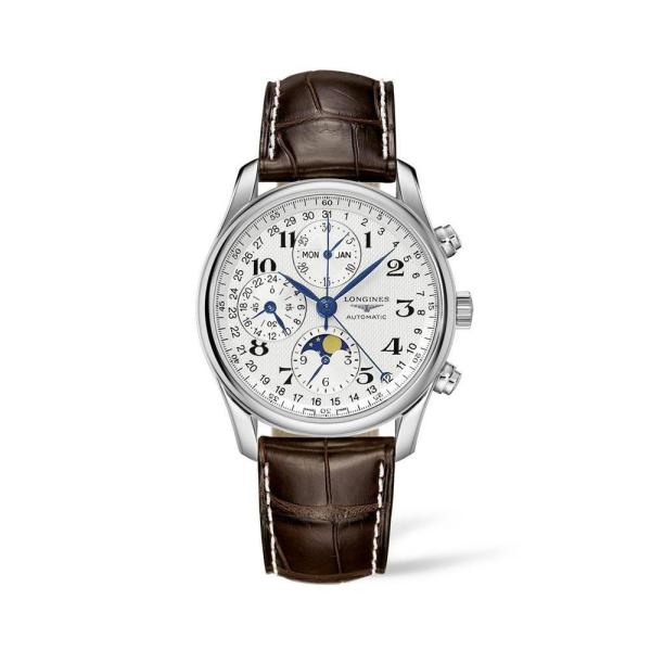 LONGINES THE LONGINES MASTER COLLECTION 40MM CHRONOGRAPH WITH MOON PHASE - Gemorie