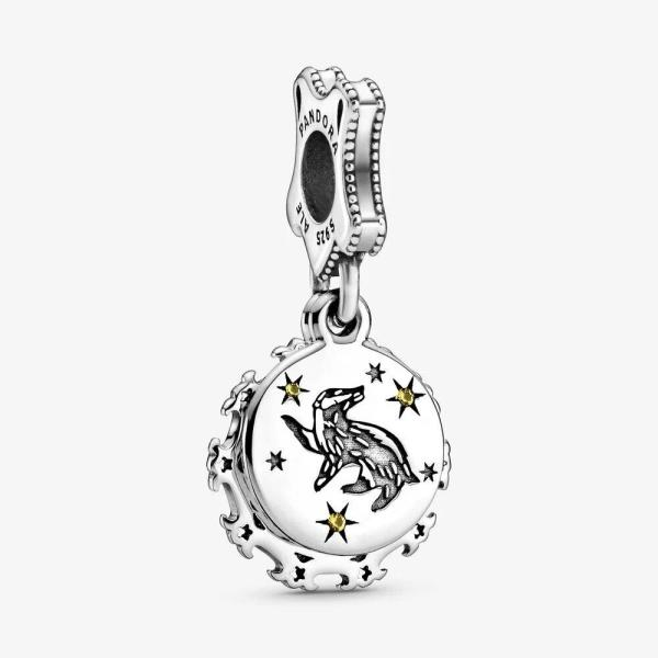 Pandora PANDORA Harry Potter, Hufflepuff Dangle Charm - Gemorie