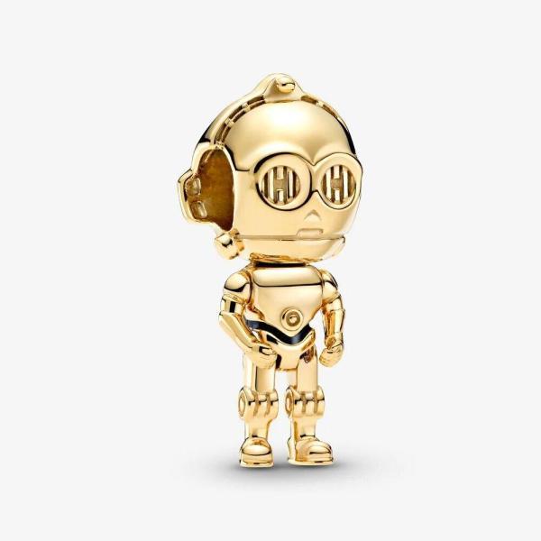 Pandora PANDORA Star Wars C-3PO Charm - Gemorie