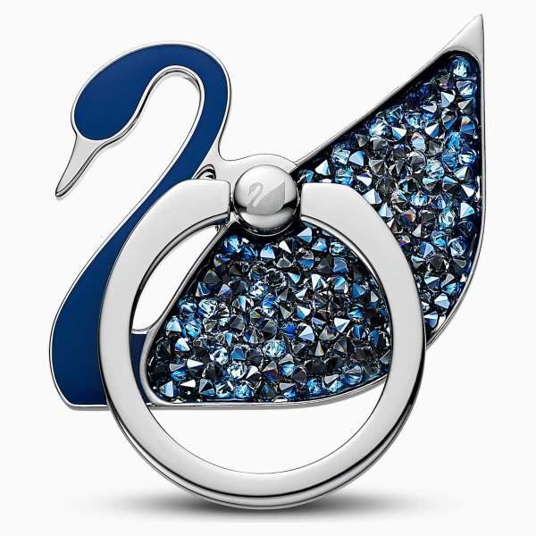 Swarovski SWAROVSKI Ring Sticker - Stainless Steel & Blue - Gemorie