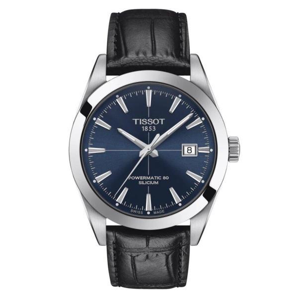 Tissot TISSOT Gentleman Powermatic 80 Silicium Magnetic Resistant Watch - Black - Gemorie