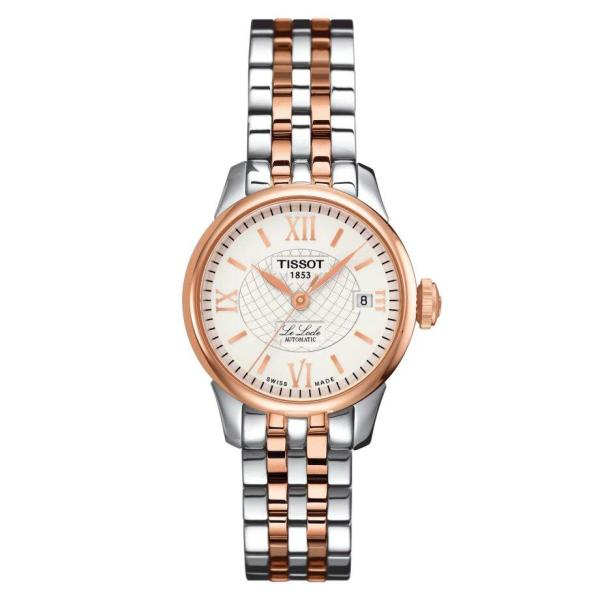 Tissot TISSOT Le Locle Automatic Small Lady (25.30) - Rose Gold & Stainless Steel - Gemorie