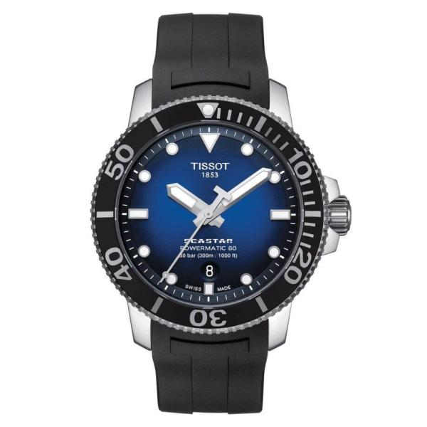 Tissot TISSOT Seaster Powermatic 80 T-Sport Collection Men's Watch - Black - Gemorie