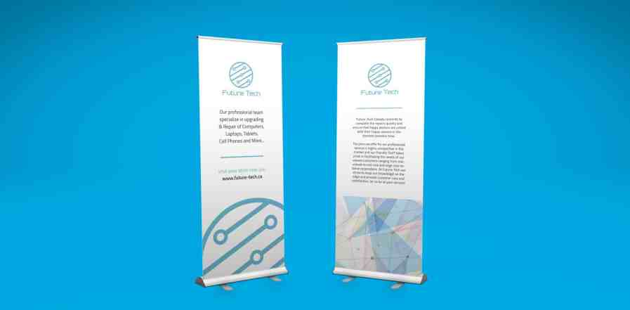 pull up banner, pull up banners, printing north york, printing pull up banners
