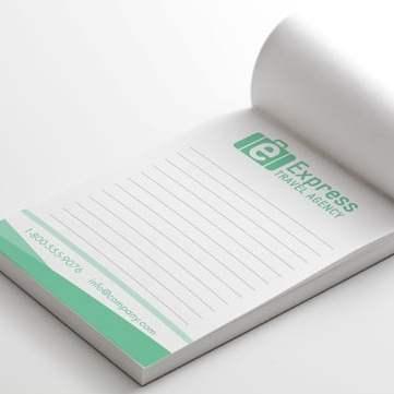 notepads, notepads printing, notepads printing north york, customized notepads
