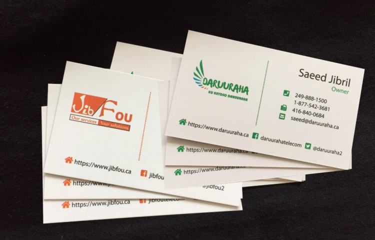 laminated business cards, printing north york, laminated business cards gemprint, executive business cards, special offer