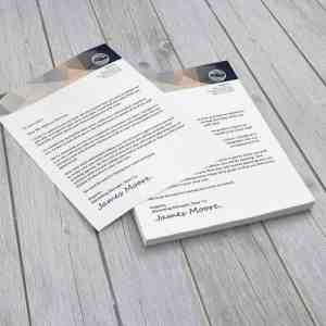 letterheads, letterheads gta, letterheads north york, cheap letterheads, printing north york