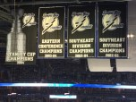 2015 Eastern Conference Champions. Time for a new banner.